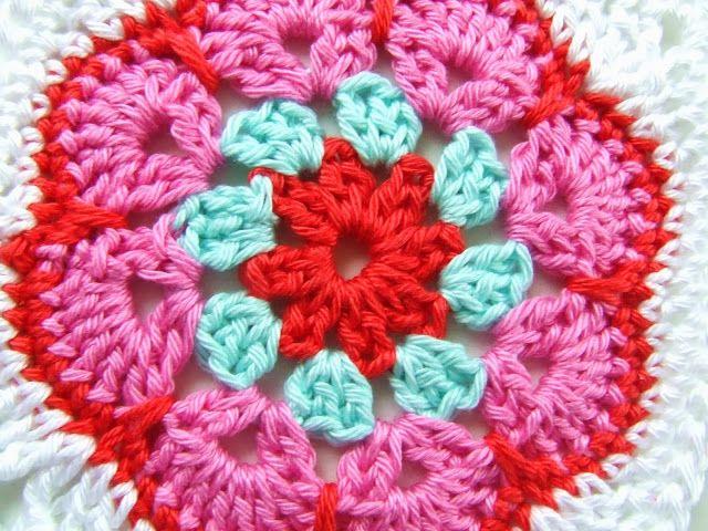 Haakkamer7 Crochet Granny Squares Free Pattern Pinterest