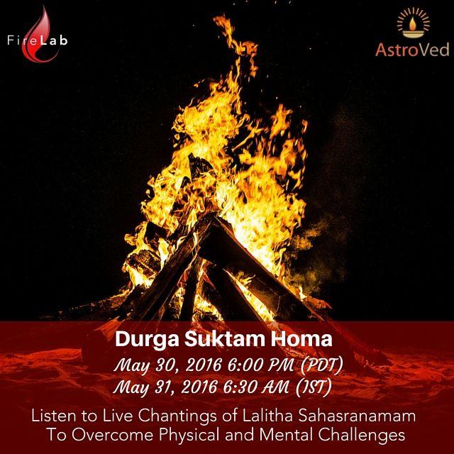 Durga Suktam Homa, Group Lalitha Sahasranamam,Goddess Lalita