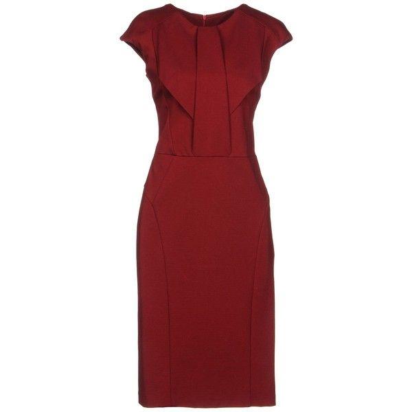 Annarita N. Knee-length Dress (€94) Liked On Polyvore