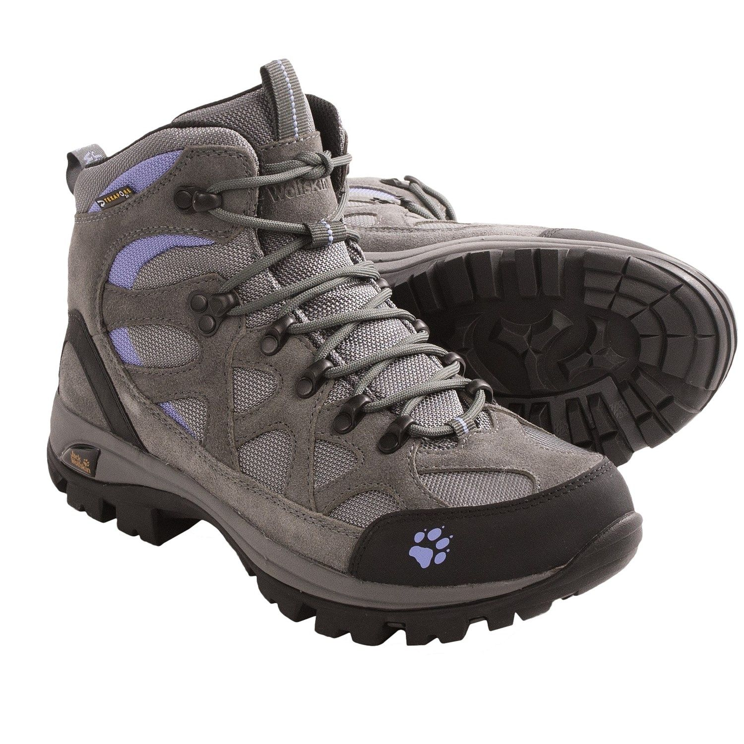 jack wolfskin all terrain texapore hiking boots. Black Bedroom Furniture Sets. Home Design Ideas