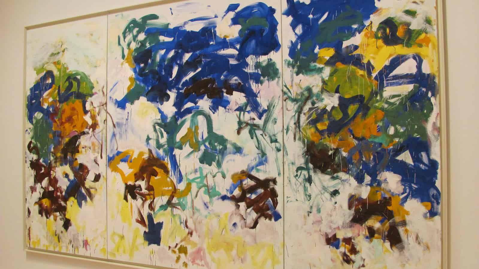Was Du Uber Joan Mitchell Und Ihren Kunstlerischen Werdegang Wissen Musst In Dieser Joan Mitchell Biografie Findes In 2020 Joan Mitchell Kunstwerke Abstraktes Gemalde