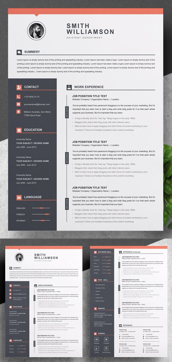 Customize 67 Professional Resume Templates Online