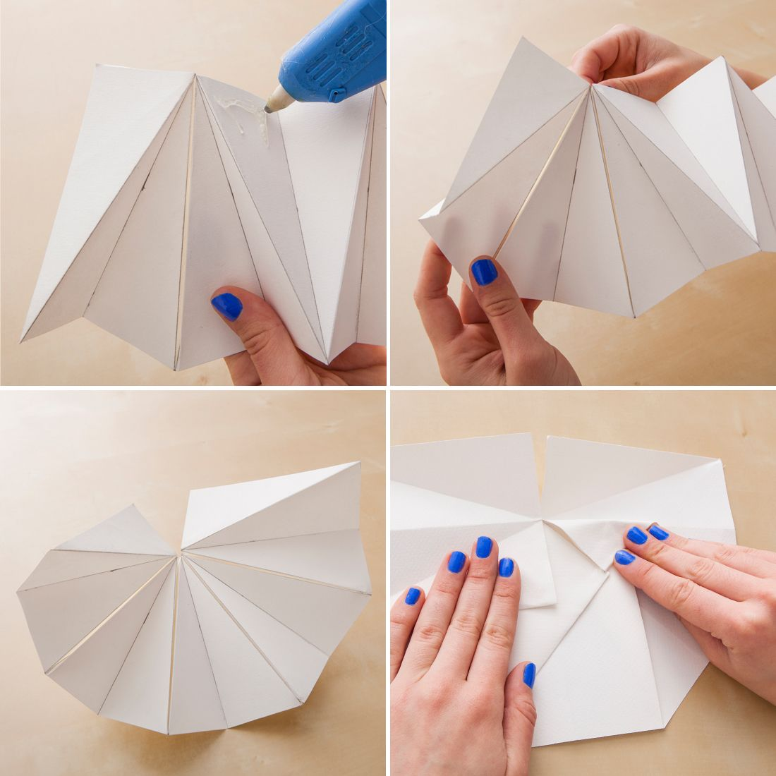 These diy origami lamp shades are our new obsession origami lamp these diy origami lamp shades are our new obsession via brit co mozeypictures Image collections