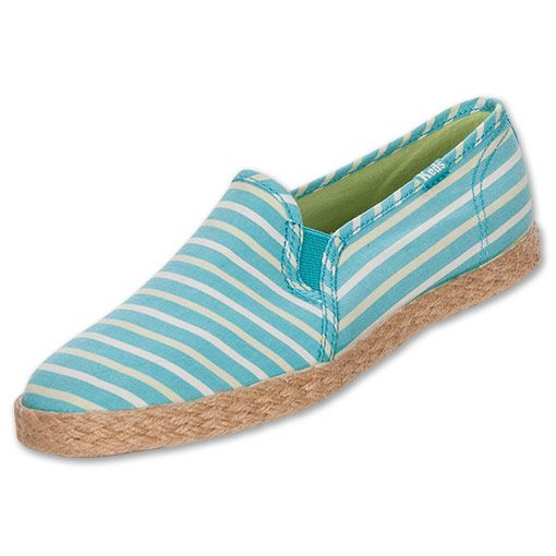 Keds Women's Casual Shoes Twin Gore Jute Stripe Teal