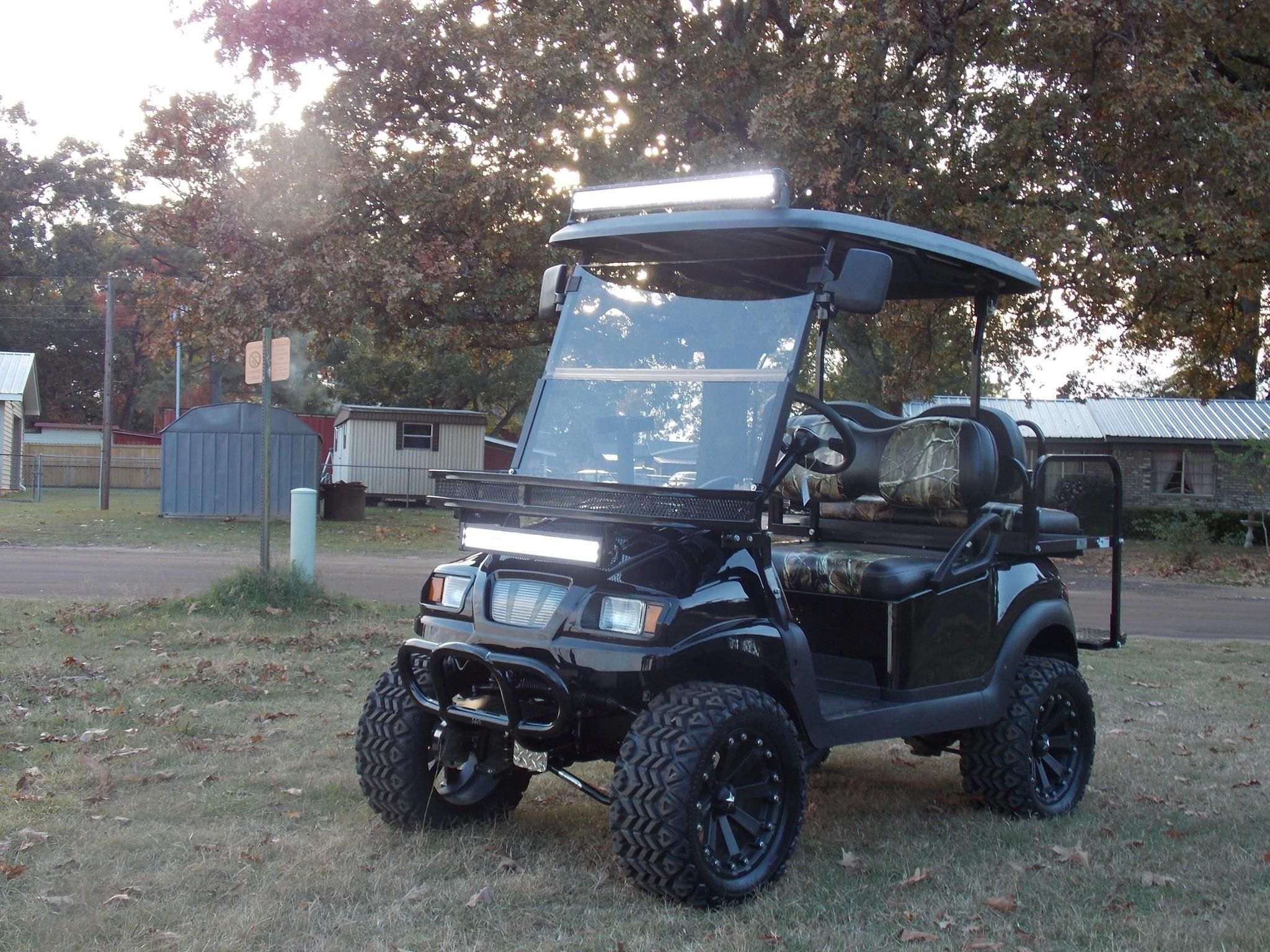 Southern Sportz 2 Limited Rock N Edition Phantom Xt Club Car Precedent 48v Electric Hunting Cart With Images All Terrain Vehicles All Terrain Tyres Golf Carts