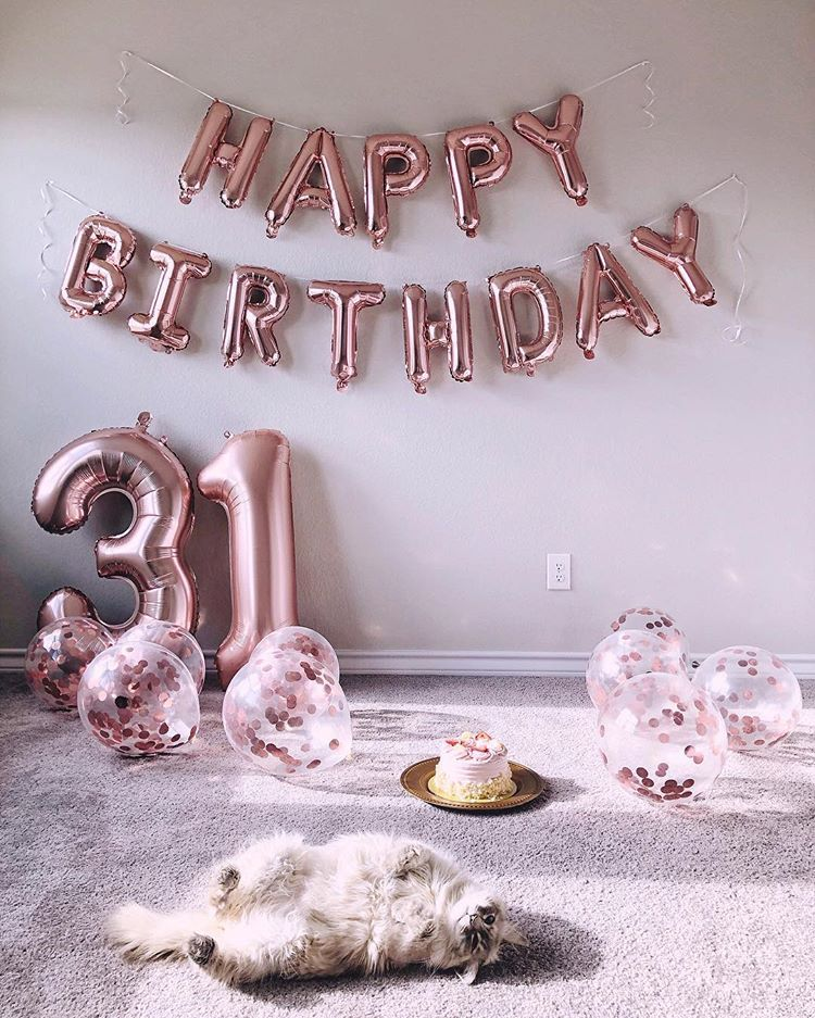 Maria V Instagram Happy Birthday To Me 31 Years Old
