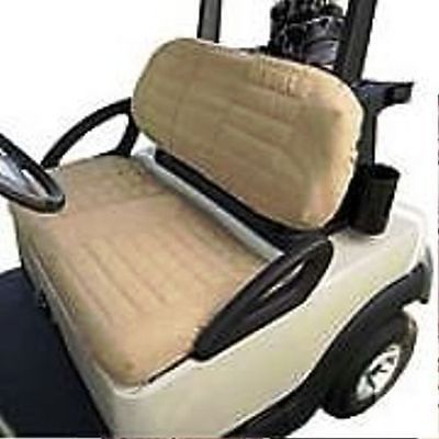 universal golf cart removable padded protective water resistant air mesh seat cover golf carts. Black Bedroom Furniture Sets. Home Design Ideas