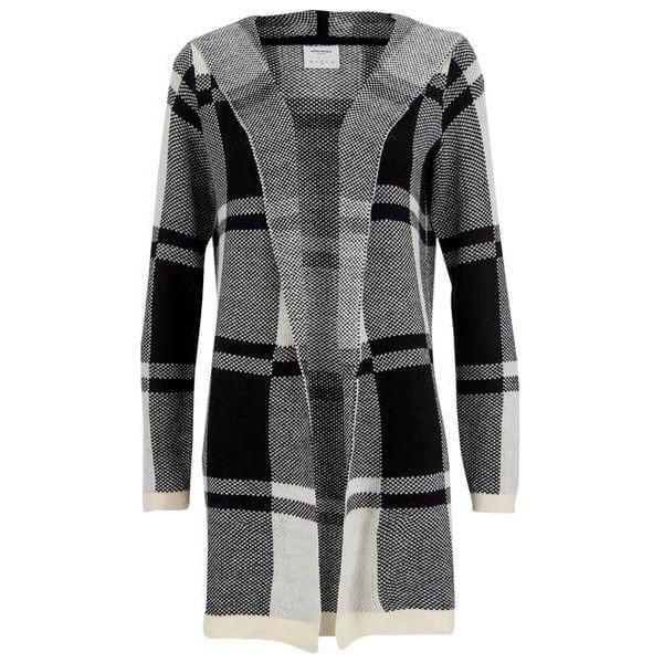 Vero Moda Women s Viva Long Sleeve Hood Coatigan - Antique White (135 RON)  ❤ liked on Polyvore featuring tops bac9045ac
