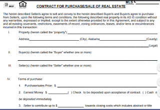 Real Estate For Sale By Owner Contract Template Real Estate Contract Contract Template Maryland Real Estate