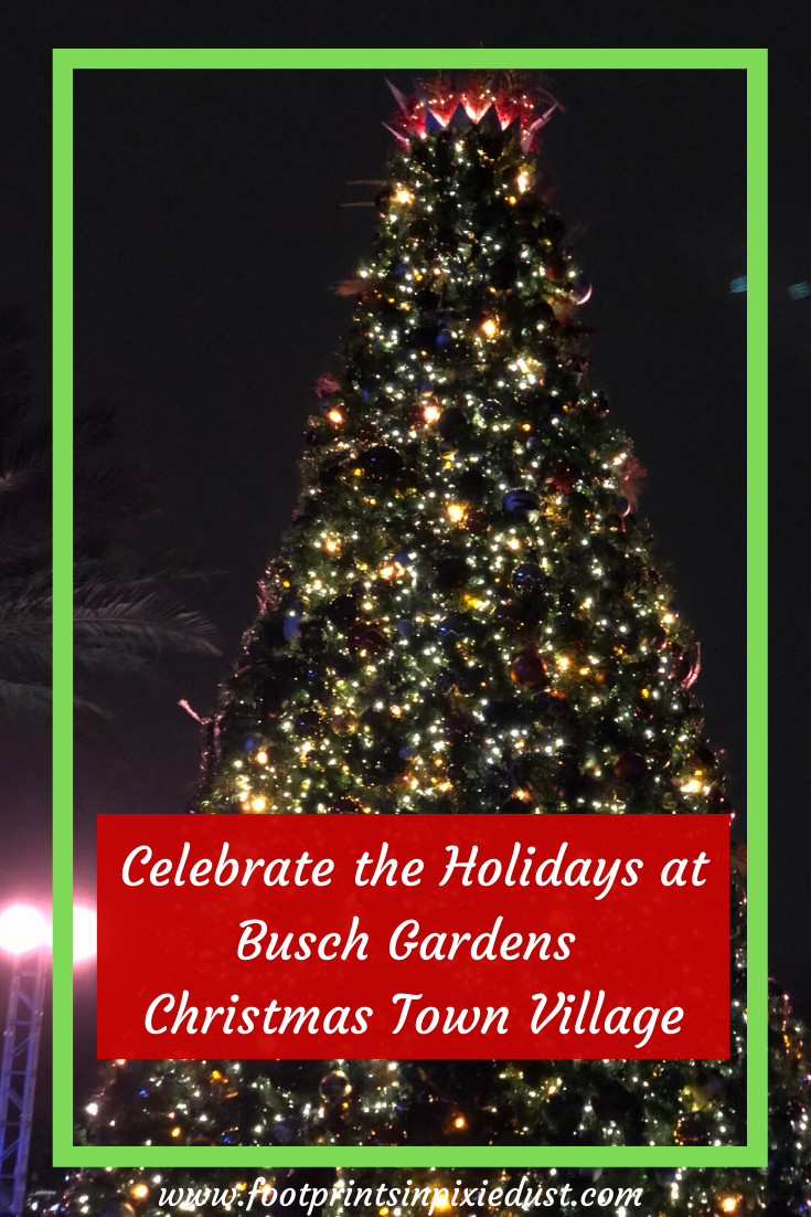 Tips For Christmas Town Busch Gardens