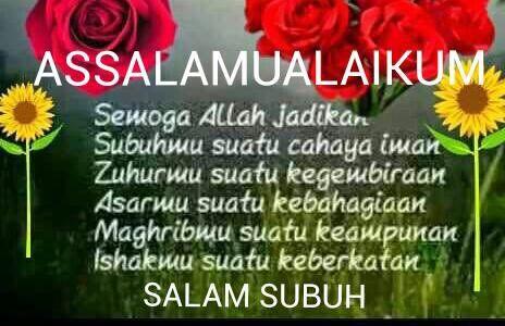 Image Result For Salam Subuh Dengan Gambar Doa Selamat Pagi