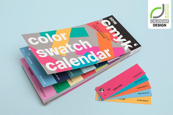 CALENDAR DESIGN! Color Swatch Calendar by Peter von Freyhold & OUI R Creative Studio » Retail Design Blog