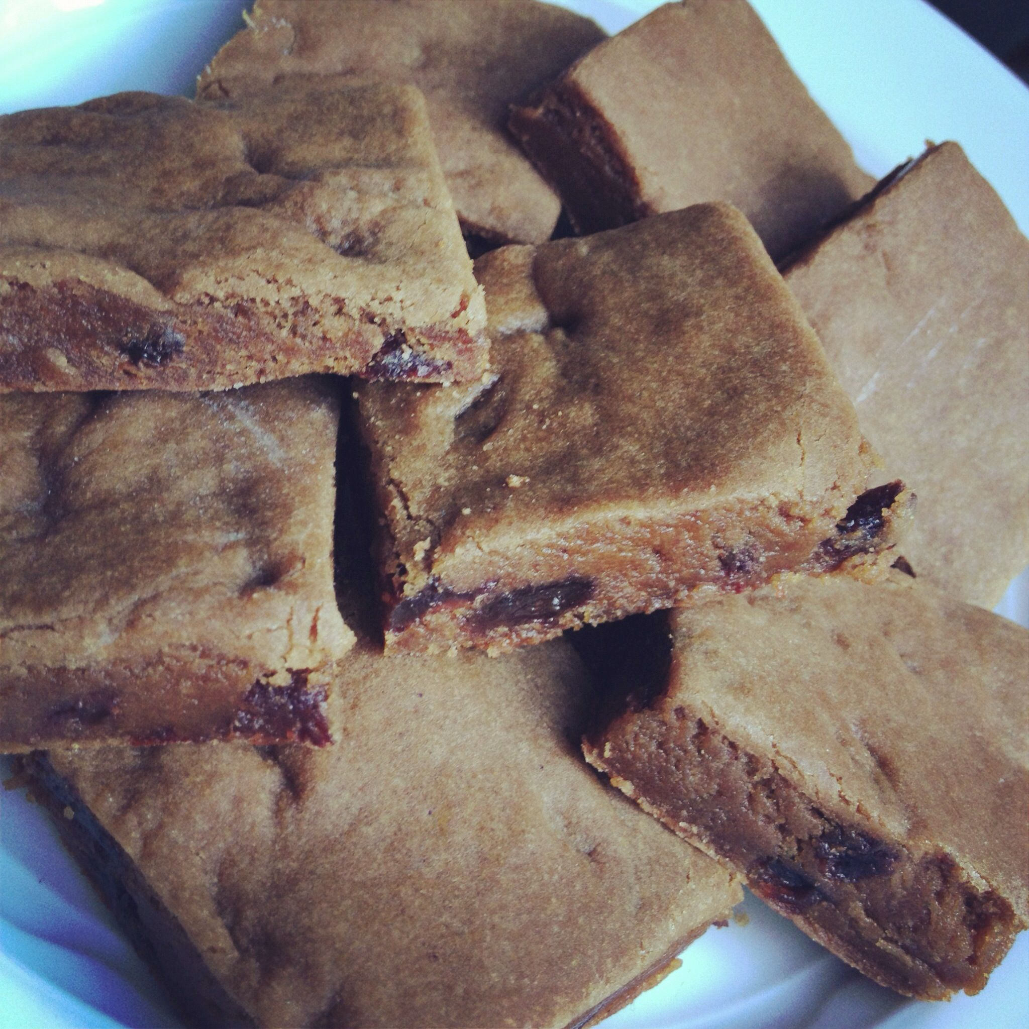 New England Hermit Cookie Bars The Lemon Bowl Recipe Cookie Bar Recipes Molasses Cookies Hermit Cookies