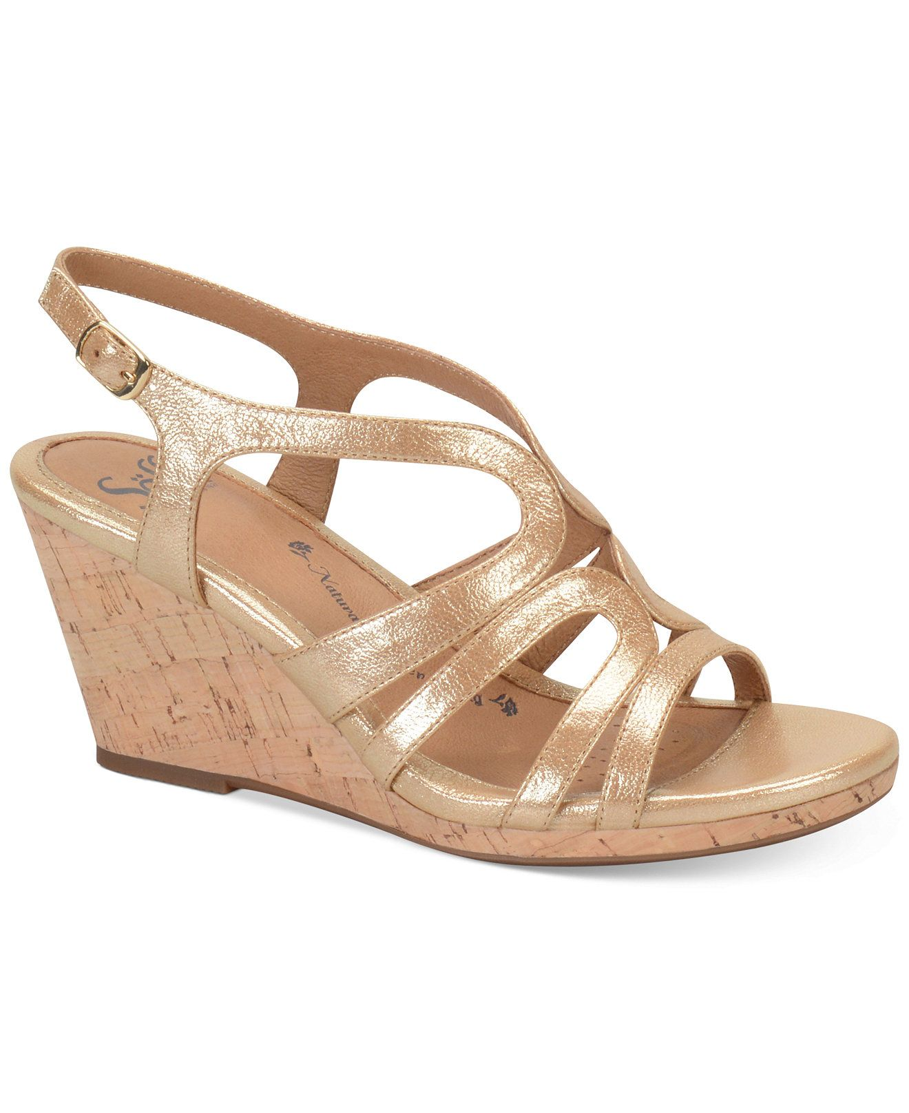 Sofft Corinth Platform Wedge Sandals - Wedges - Shoes - Macy's