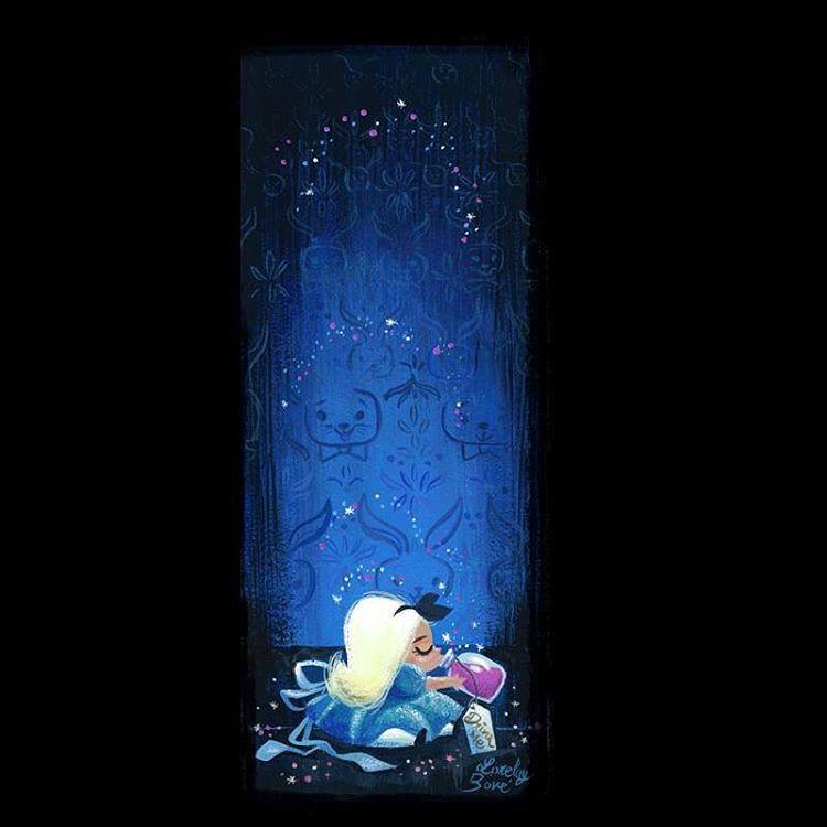 Alice in Wonderland by Lorelay Bove