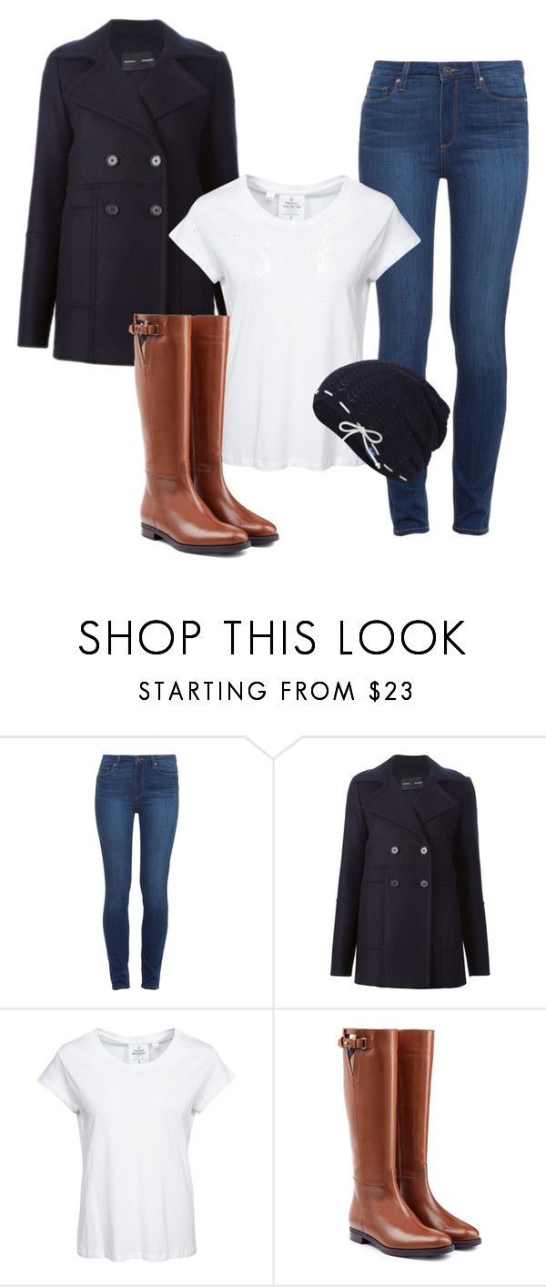 """""""Rain On My Eyelashes"""" by luv-peanutbutter8 ❤ liked on Polyvore featuring Paige Denim, Proenza Schouler, Cheap Monday, Burberry and Keds"""