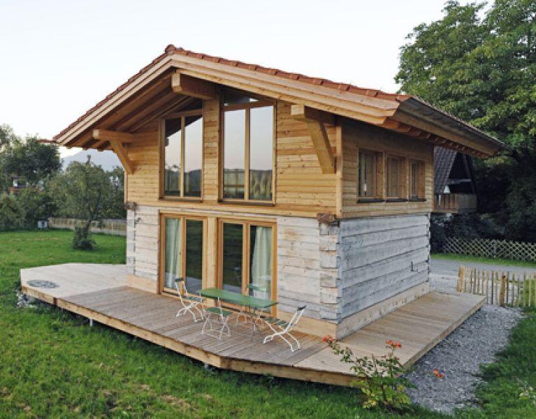 Blockhaus Tiny House Artifex Blockhaus bauen