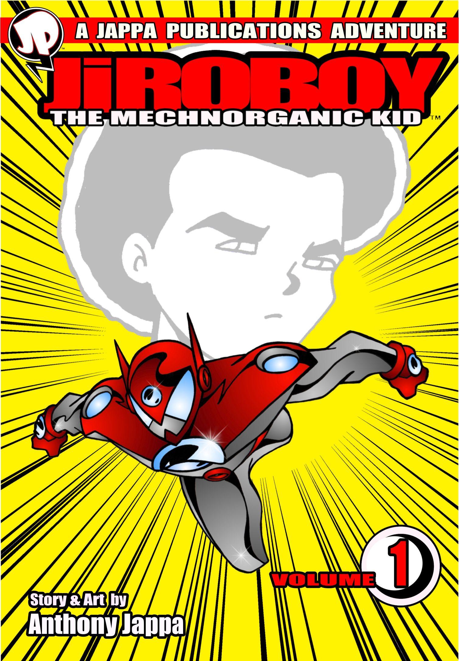 Featured Comic Book November Jiroboy The