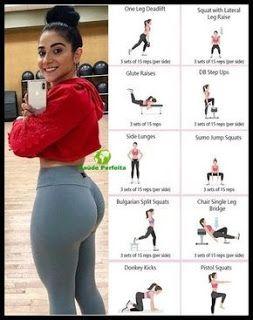 ejercicios para levantar glúteos en casa