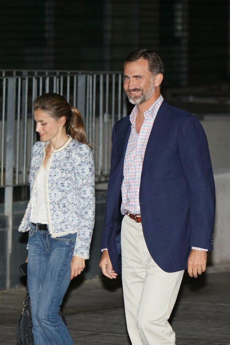 Spanish Royal Family visited King Juan Carlos at Quiron hospital in Pozuelo de Alarcon