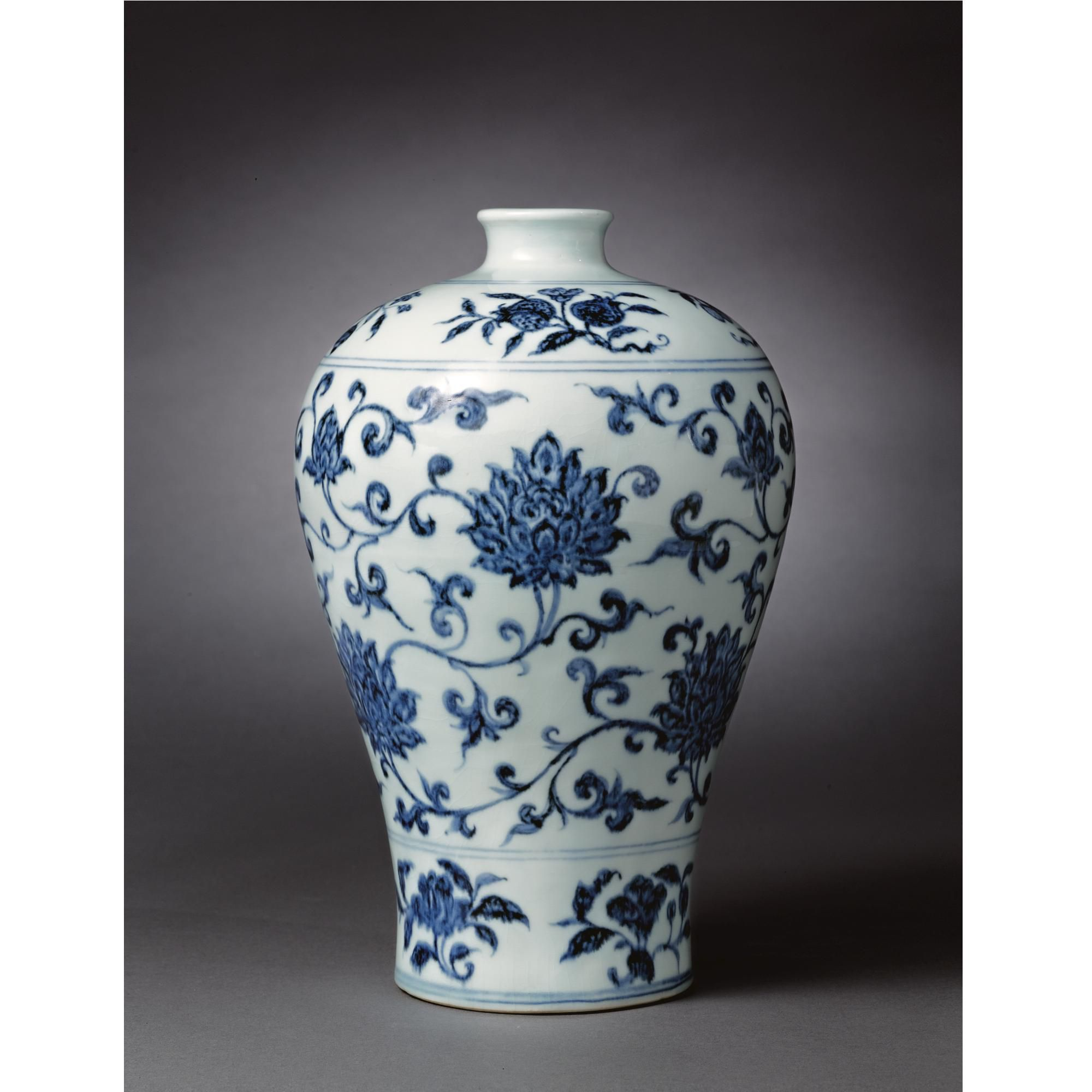 A superb and rare early ming blue and white vase meiping ming a superb and rare early ming blue and white vase meiping ming reviewsmspy