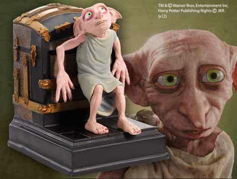 Harry Potter Buchstütze Dobby 19 cm  Harry Potter - Buchstützen - Hadesflamme - Merchandise - Onlineshop für alles was das (Fan) Herz begehrt!