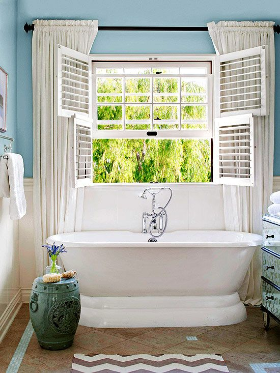 Country Cottage Bathroom Ideas Bathroom Window