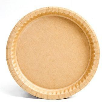 7 1/2  Kraft Natural Coated Recycled Corrugated Paper Plates (20702)  sc 1 st  Pinterest & 7 1/2