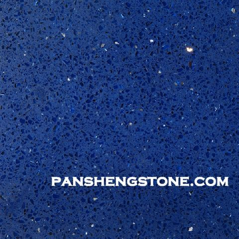 Blue Galaxy Blue Quartz Stone Is009 Pansheng Artificial Blue Galaxy Blue Quartz Stone Quartz Stone Tile Floor An Quartz Countertops Blue Quartz Quartz Stone