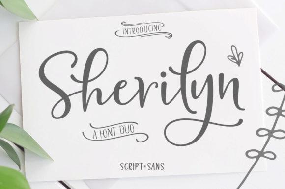 Download Sherilyn Duo (Font) by Zane Studio · Creative Fabrica in ...