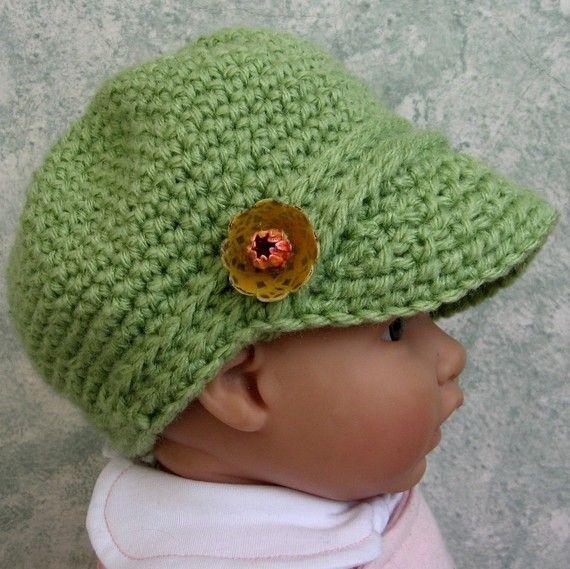 Newsboy hat crochet pattern infant toddler instant download easy to newsboy hat crochet pattern infant toddler instant download easy to make dt1010fo