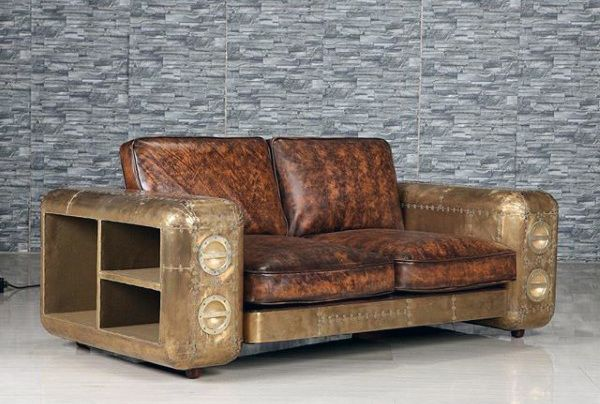 Retro Couch Man Cave Furniture Inspiration