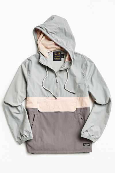 CPO Citywide Colorblock Anorak Jacket - Urban Outfitters  f935a0a88ba