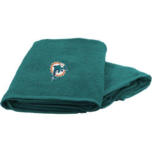 NFL Miami Dolphins Bath Towel