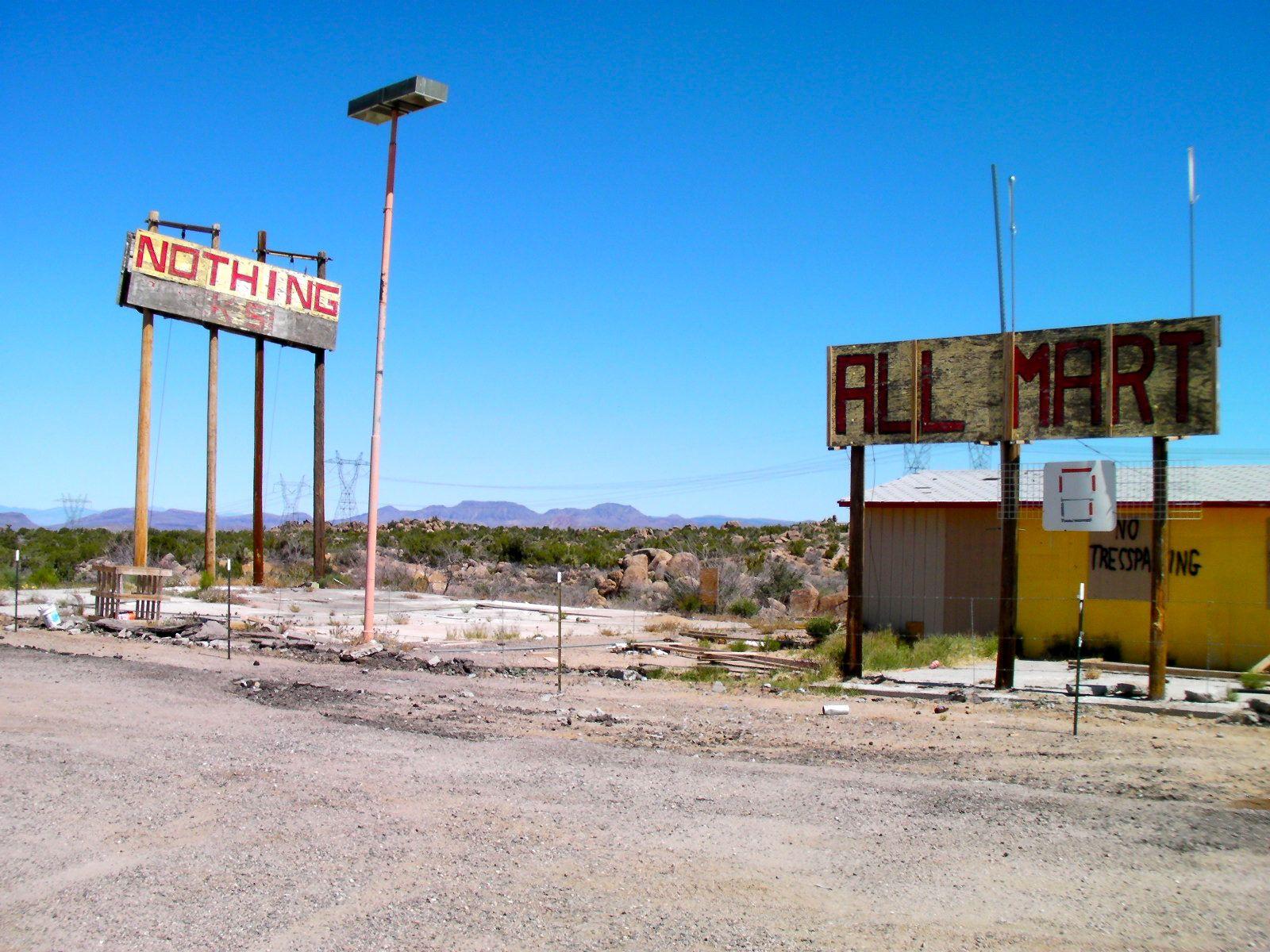 US 93 Nothing Arizona US 93 Nothing Arizona