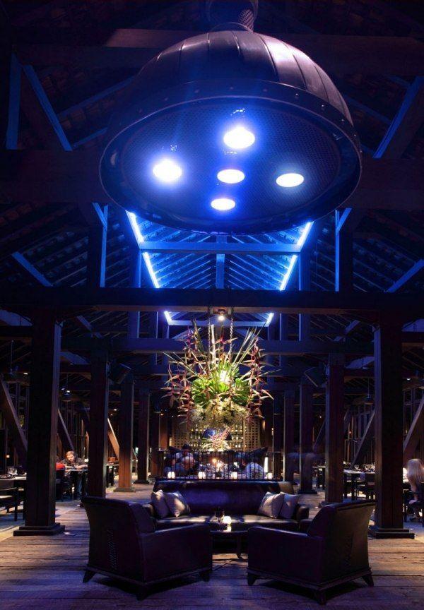 Best luxushotel Phuket Indigo Pearl au enbereich beleuchtung
