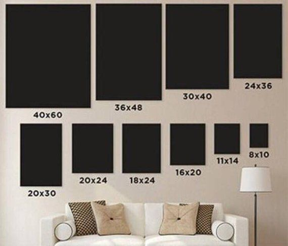 sacrifice christ diy canvas wall art living room also size chart in business display rh pinterest