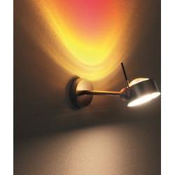 Photo of Top Light Led Wandleuchte Puk Maxx Side, 20 cm, Nickel-matt, Twin 4x12W Puk Maxx 4x 12 Watt, Nickel