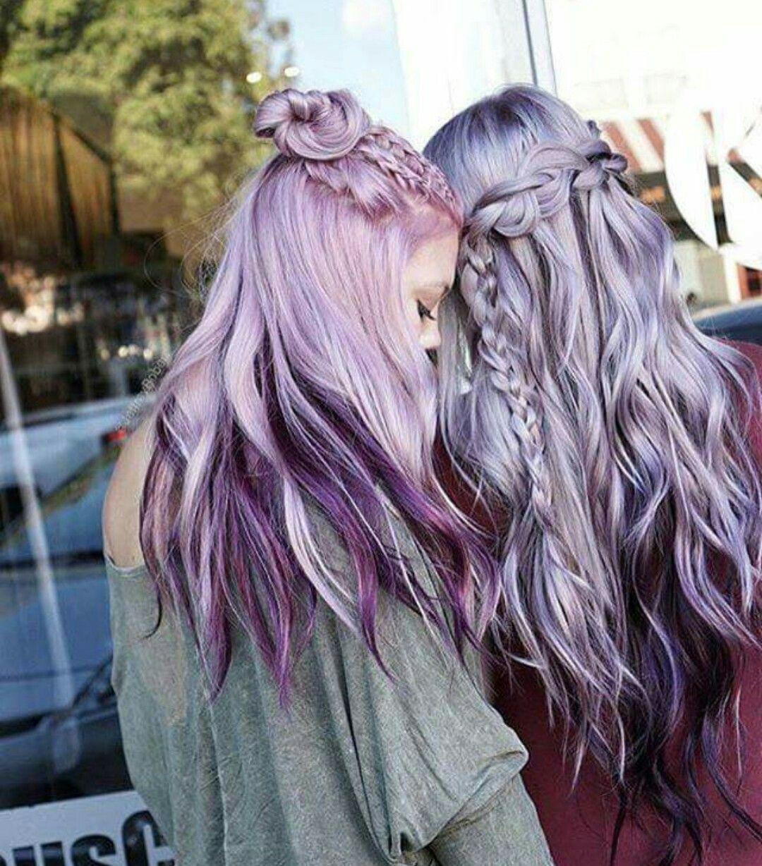 Cabelo tumblr garotas inspiração cor tumblr cebelo colorido
