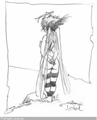 Clochette loisel recherche google artist inspiration - Fee clochette ombre ...