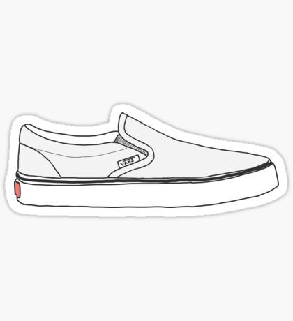 Trendy Stickers (With images) | Vans stickers