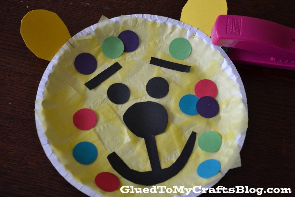 Dr Seuss Inspired Leopard Kid Craft School Pre School And Teacher