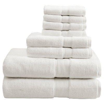 8pc Bath Towel Set Cream Bath Towel Sets Towel Set Bath Towels
