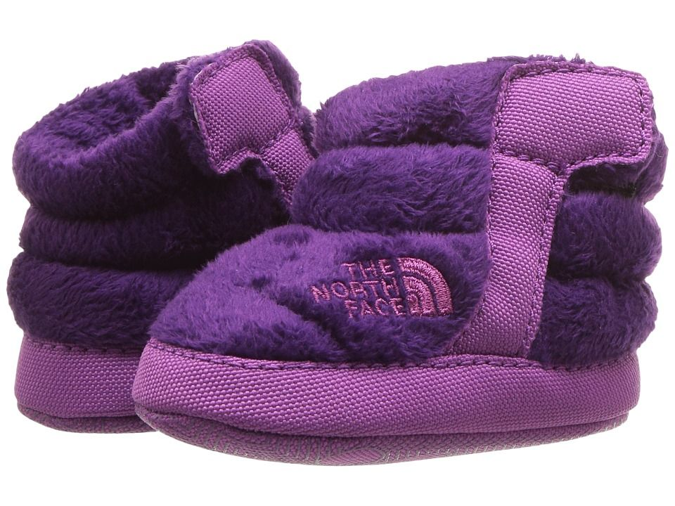 67eedc8b8 The North Face Kids NSE Fleece Bootie (Infant/Toddler) Girls Shoes ...