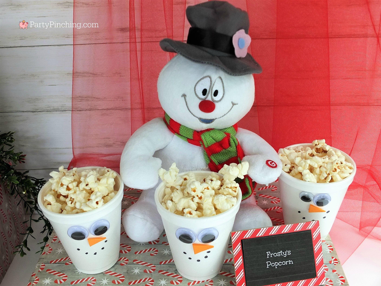 Christmas Movie Marathon Christmas Movie Night Party Ideas Rudolph Treats Bumble Abomina Kids Christmas Party Christmas Movies Charlie Brown Christmas Movie