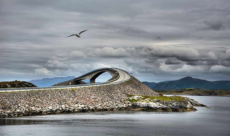The twists and turns of the Atlantic Road
