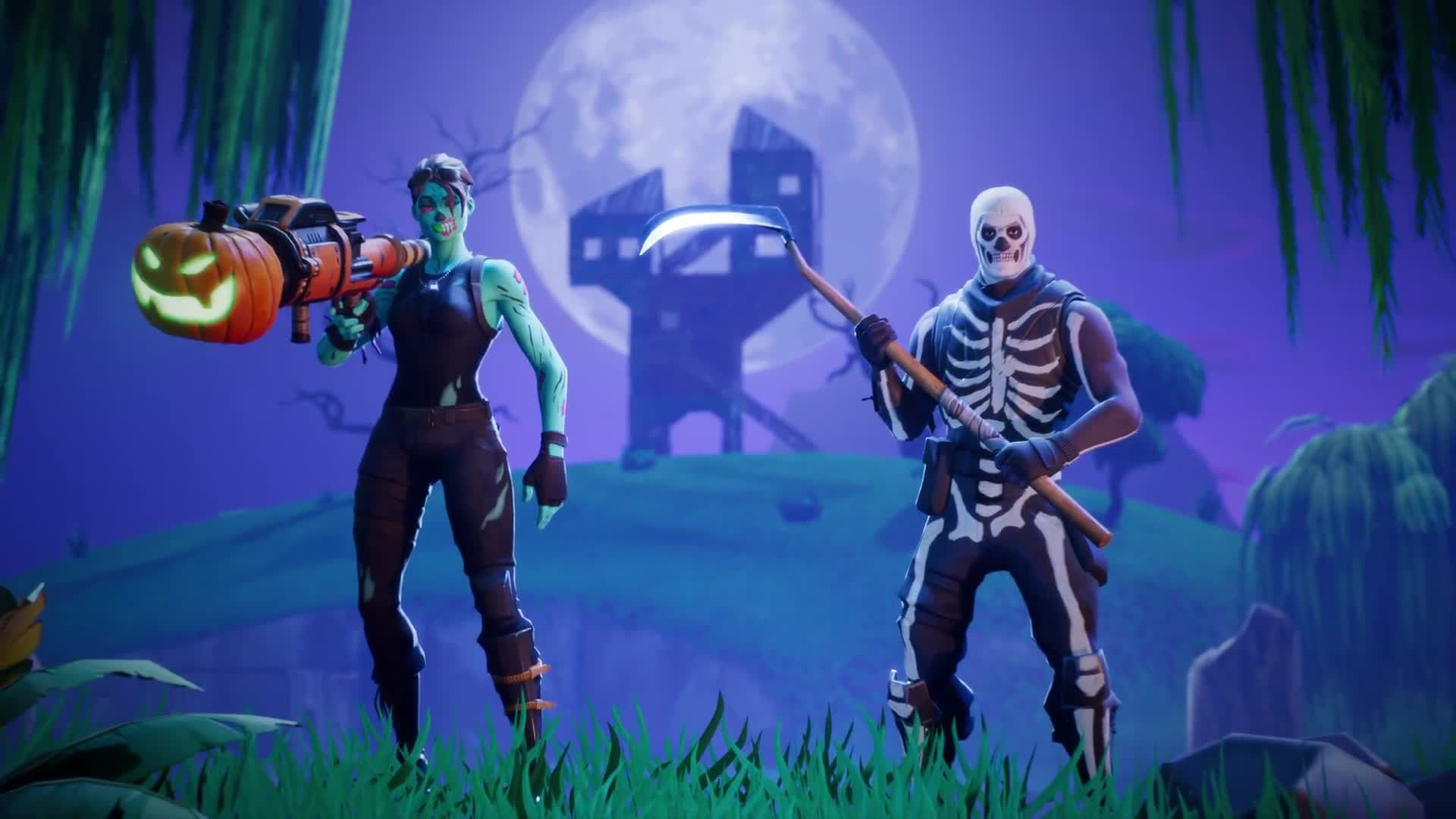 Fortnite Battle Royale Skins All Free And Premium Outfits Ghoul Trooper Background Images Wallpapers Fortnite