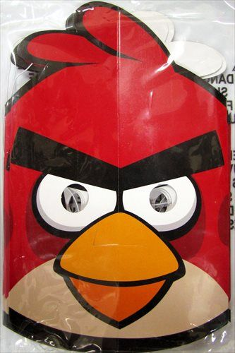 Angry Birds Paper Masks