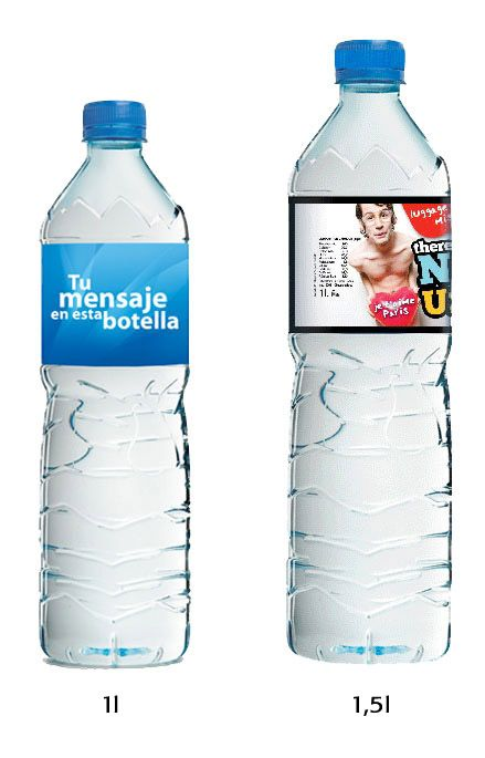 Botellas 1l Y 1 5l 1l And 1 5l Bottle Sant Aniol Etiqueta Papel
