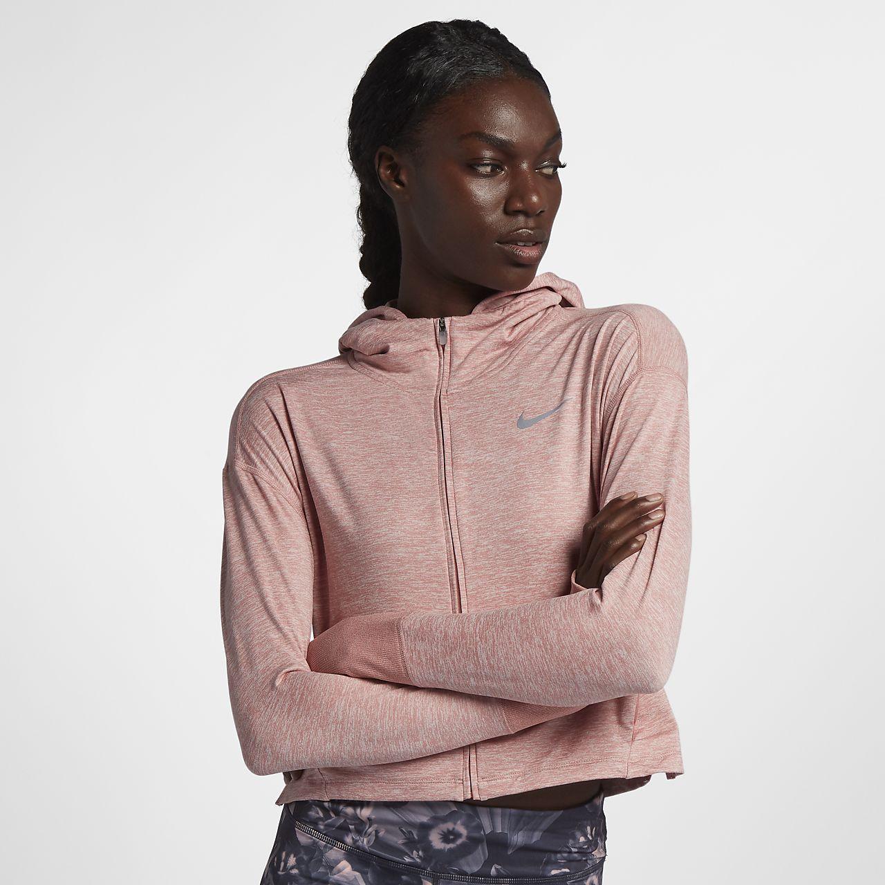 size 40 bad3a 586ea Löparhuvtröja Nike Element Full-Zip för kvinnor